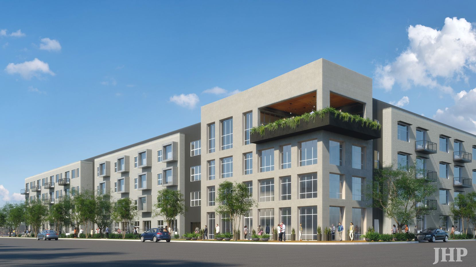 Cypress Real Estate Advisors is building the apartment project on Ross Avenue east of downtown Dallas.