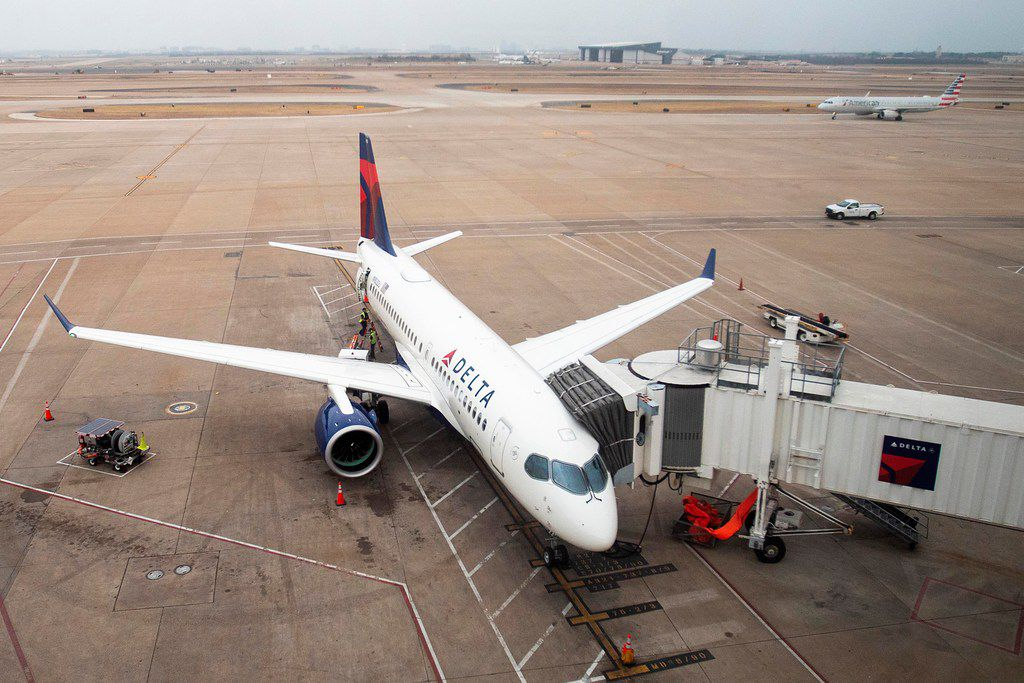 Delta Air Lines, which recently put its new Airbus A220-100 into service at DFW International Airport, doled out $7 million in bonuses Thursday to about 1,000 North Texas employees.