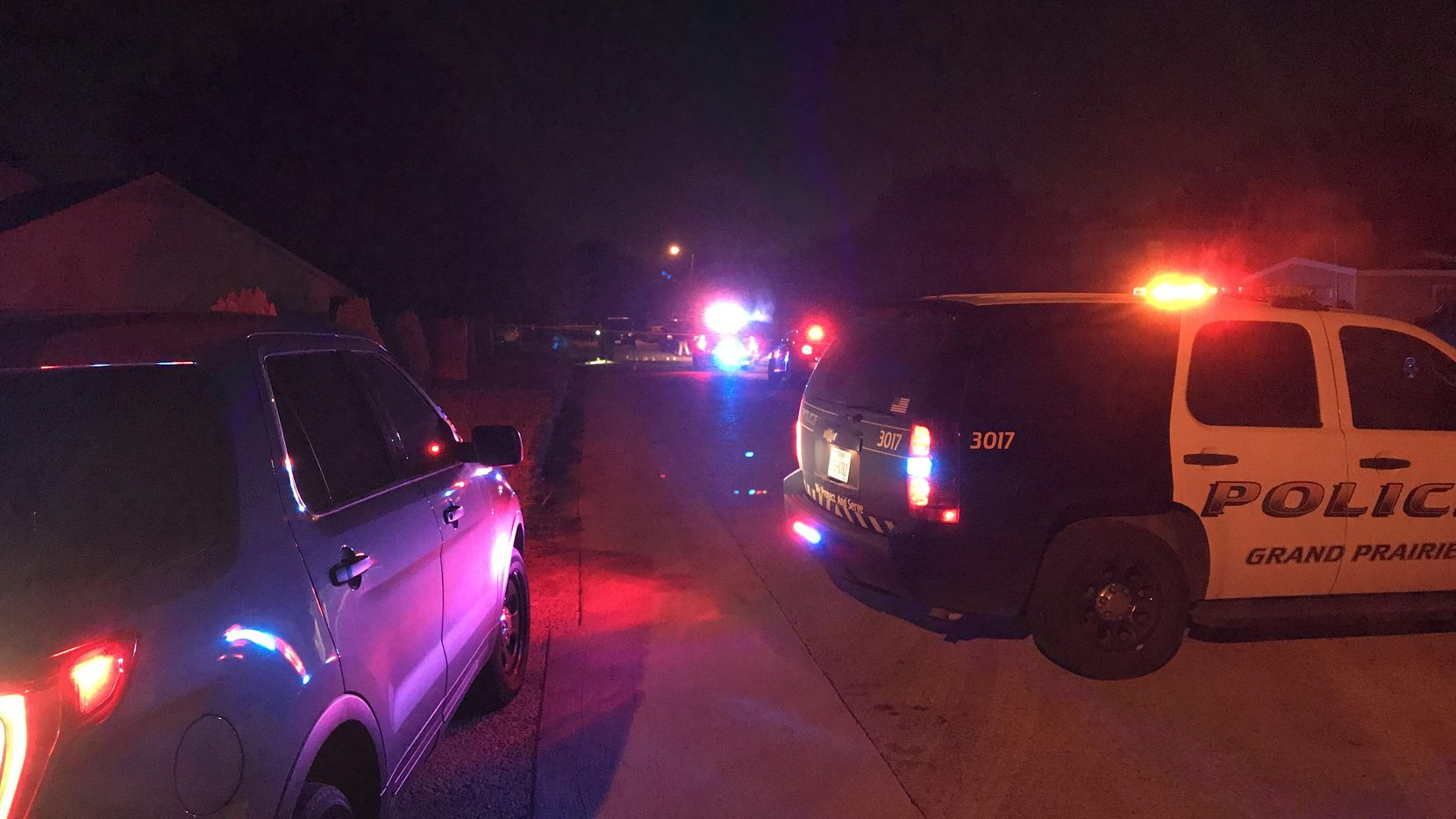 Four men were taken to various hospitals Thursday night after a shootout in Grand Prairie.