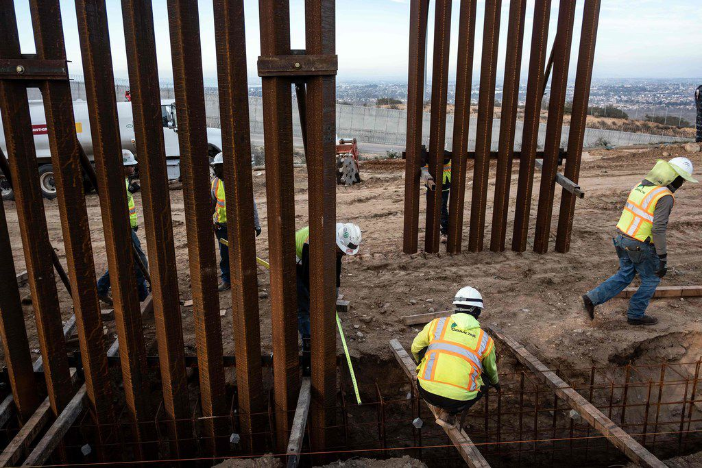 Texas Republicans have differing views on the prospect that President Donald Trump might declare a national emergency to build more wall along the U.S.-Mexico border.