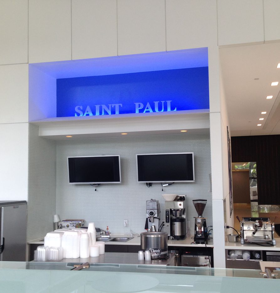 A deli was added tot he St. Paul Place lobby.