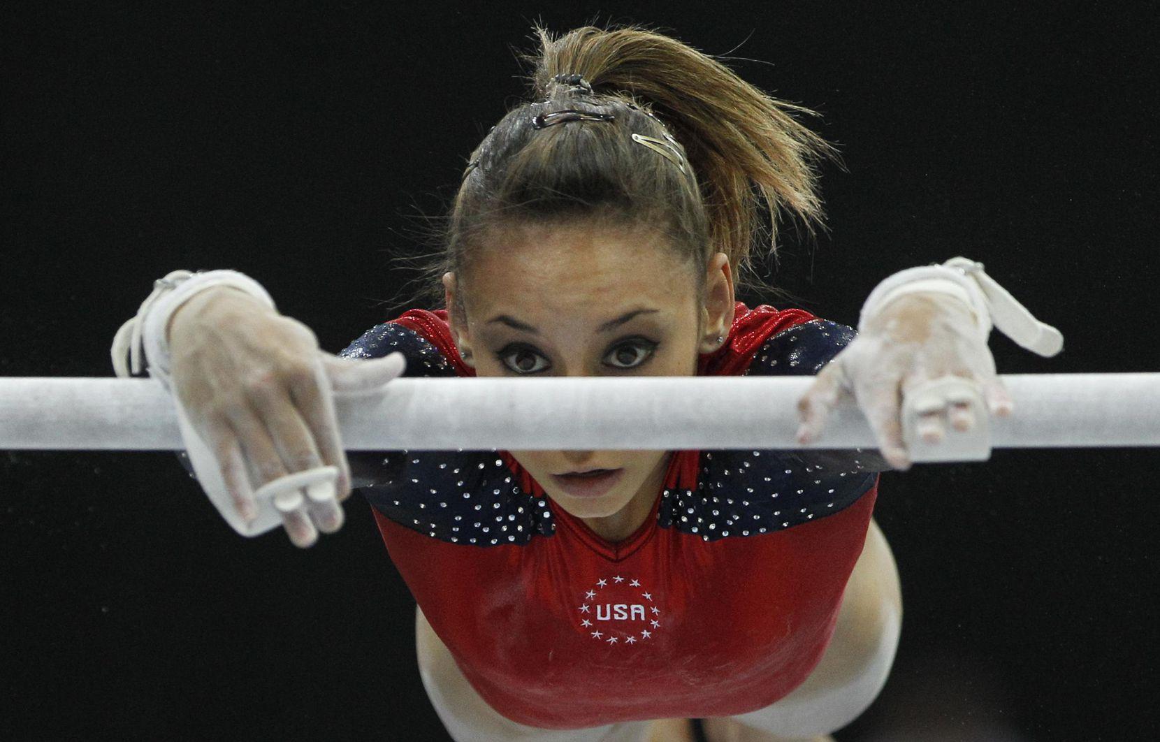 Mattie Larson, del equipo estadounidense del 2010, fue una de las que demandó a Larry Nassar. También incluyó a los Karolyi en la demanda. AP