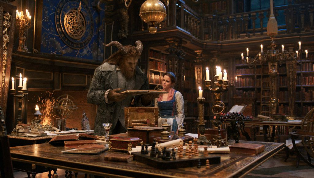 """Dan Stevens plays the Beast and Emma Watson is Belle in a live-action adaptation of the animated classic """"Beauty and the Beast."""""""