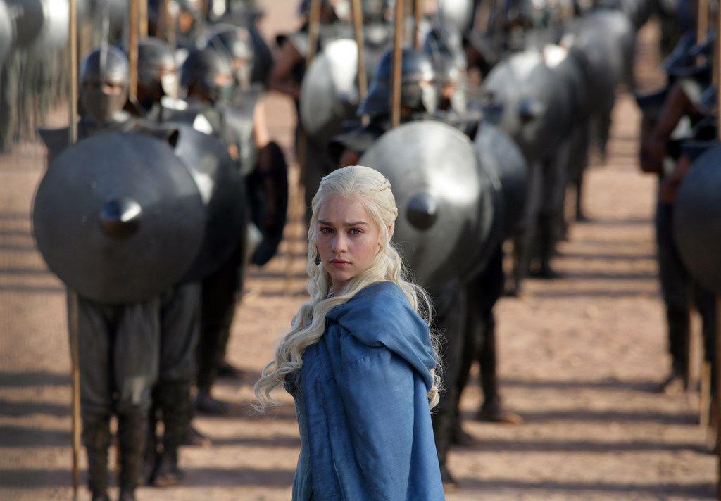 "Emilia Clarke plays Daenerys Targaryen in  ""Game of Thrones."""