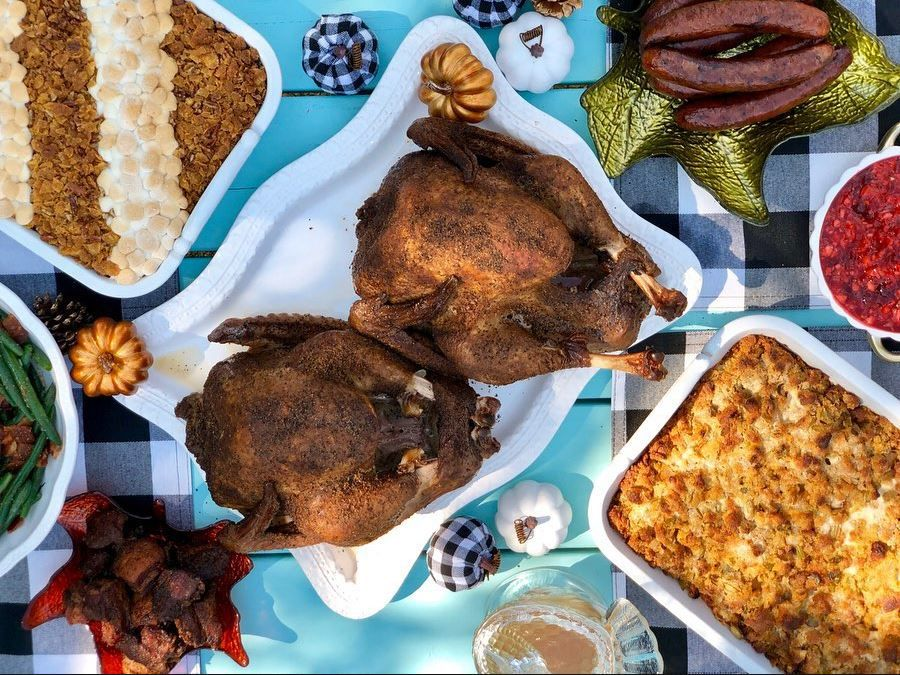 Heim BBQ in Fort Worth offers smoked turkeys to go.