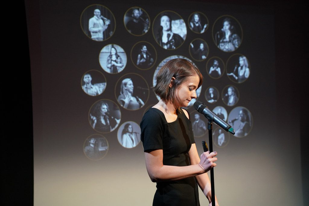Erin Barker, artistic director of the science storytelling podcast The Story Collider.