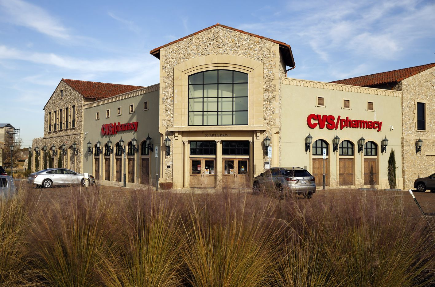 The CVS Pharmacy is unlike any other in the Entrada development in Westlake, Texas.