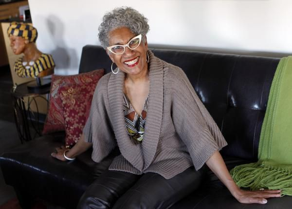 Antonia Williams-Gary, who moved to Dallas last year from Miami to pursue a new career, advises older women looking for employment to get with others in similar situations and share experiences.