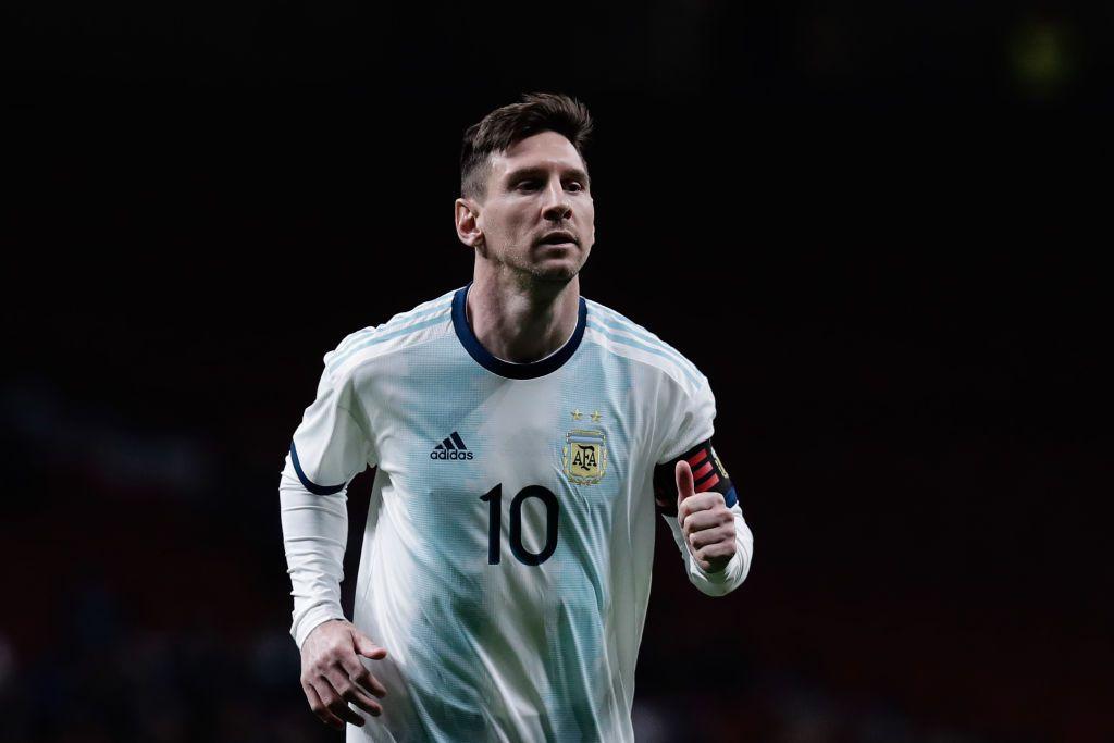 Lionel Messi habló sobre los mejores futbolistas del mundo . (Gonzalo Arroyo Moreno/Getty Images)