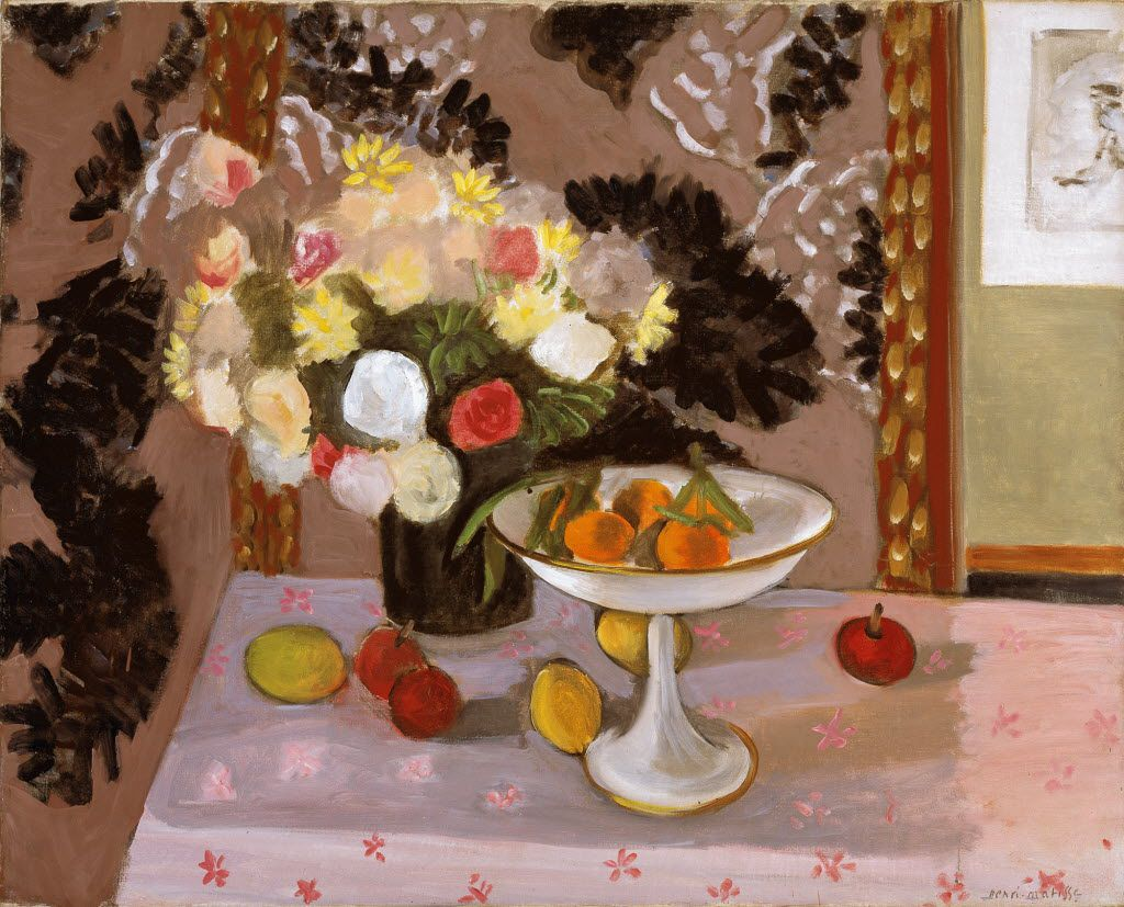 The Dallas Museum of Art acquired Still Life: Bouquet and Compotier by Henri Matisse through the McDermott fund. (Courtesy)
