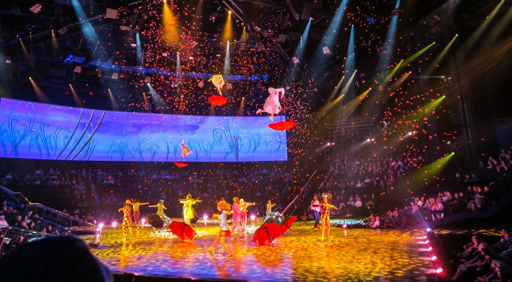 """Cirque du Soleil's """"Beatles Love"""" brings the music of the Beatles to life."""