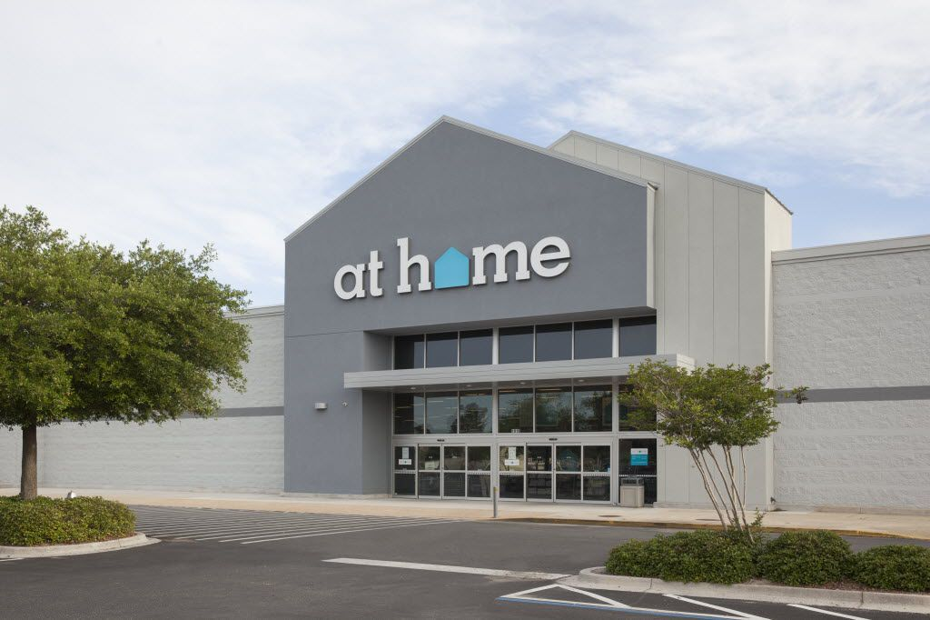 Plano-based At Home has converted several big box stores across the U.S. as it expands into new cities. In 2016, it opened stores in a vacated Kohl's in Plano and an empty Wal-Mart in Farmers Branch. (Brian Carlson)