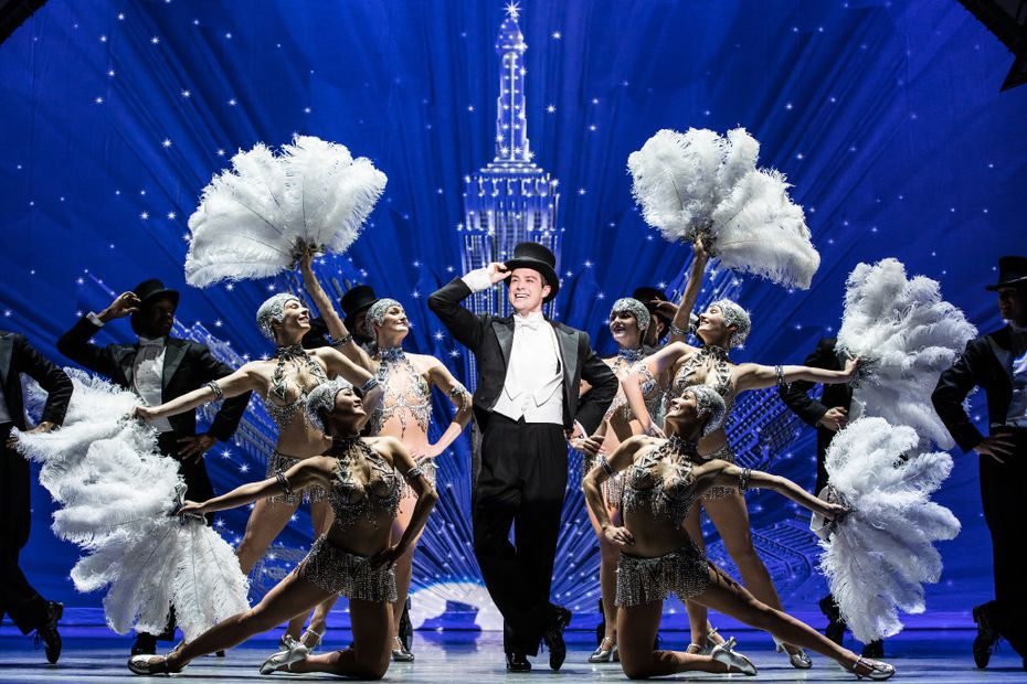 Nick Spangler and the company of the national tour of An American in Paris presented by Dallas Summer Musicals at Fair Park Music Hall Jan. 31-Feb. 12, 2017 and by Performing Arts Fort Worth at Bass Hall Feb. 14-19, 2017.