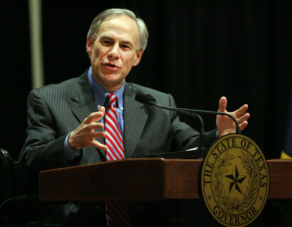 Texas Gov. Greg Abbott (AP Photo/The Monitor, Joel Martinez)