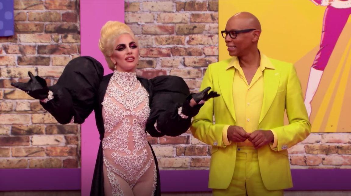 Lady Gaga on the RuPaul's Drag Race Season Premiere