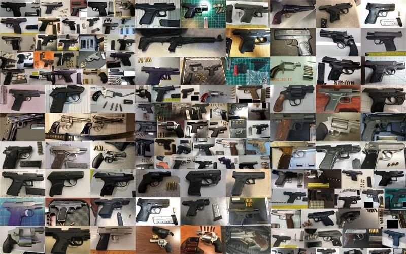 The Transportation Security Administration released a list of the 10 airports where the most firearms were found in carry-on luggage. Four Texas airports were on the list, including DFW and Love Field.