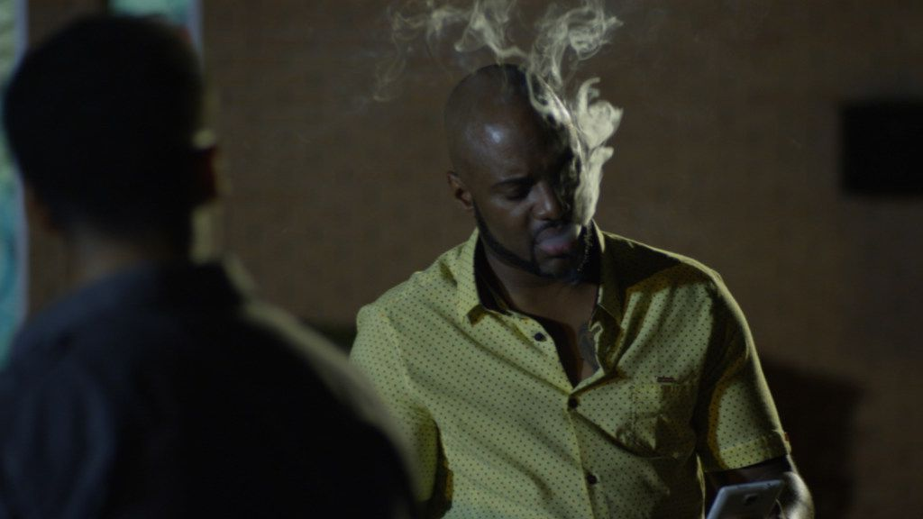 Charles Malik Whitfield plays Silk, the lead character in A Heart That Forgives.