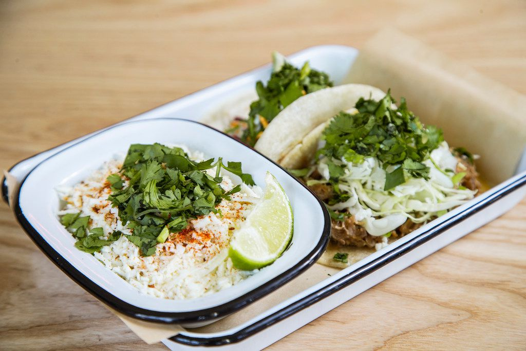 Taco Heads is open on Henderson Avenue and Velvet Taco is open on McKinney Avenue. Take your pick; both will be buzzy.
