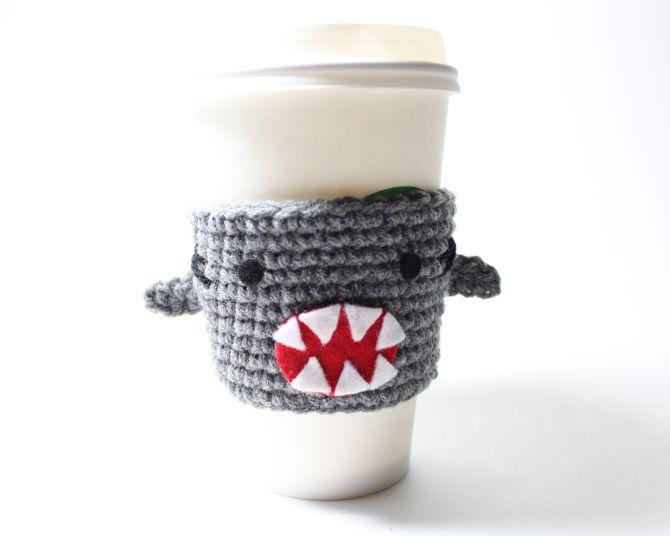Coffee cup cozy by Ms. Amanda Jayne. $15 at msamandajayne.com.