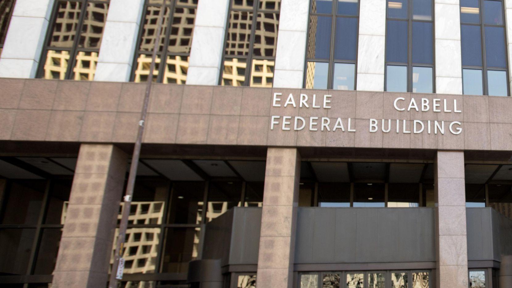 El edificio Earle Cabell, donde se encuentran las cortes federales en Dallas. DMN
