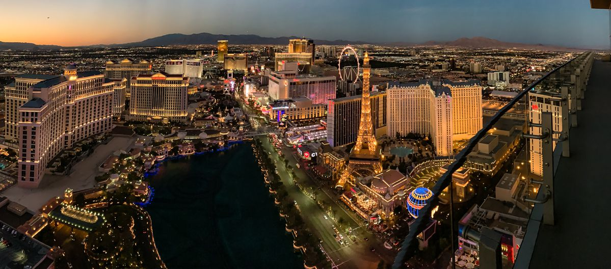 The Las Vegas Strip feels magical at night.