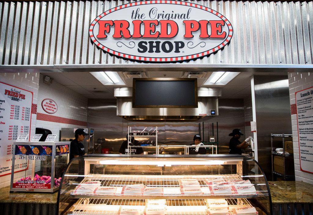 The Original Fried Pie shop at a new Fuel City location on Friday, December 16, 2016 on Haltom Road in Haltom City. (Ashley Landis/The Dallas Morning News)