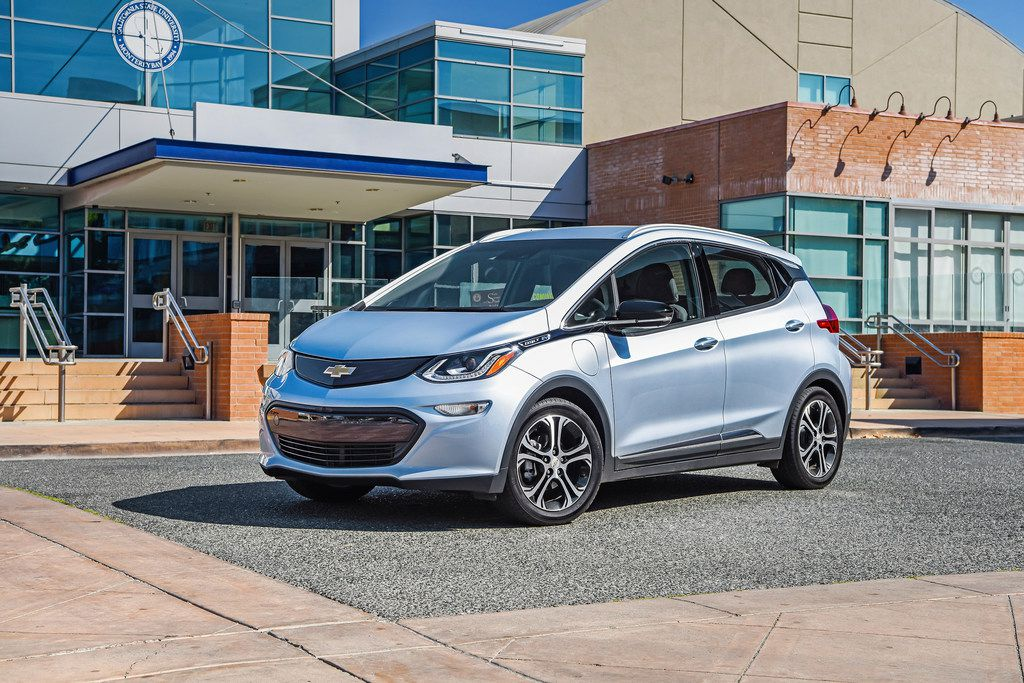 The Chevrolet Bolt is one of just two affordable EVs with more than 200 miles of range. Unlike the Tesla Model 3, the Bolt is readily available at dealerships across the country now. (Jessica Lynn Walker/General Motors)