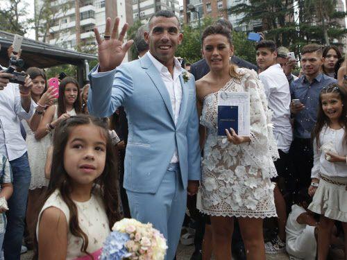 La boda de Carlos Tevez es una celebración de cuatro días. Foto AP