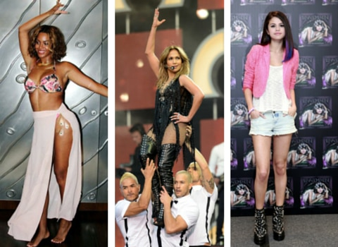 Jennifer Lopez, Selena Gomez y Beyonce se inspiraron en Selena. /AGENCIA REFORMA