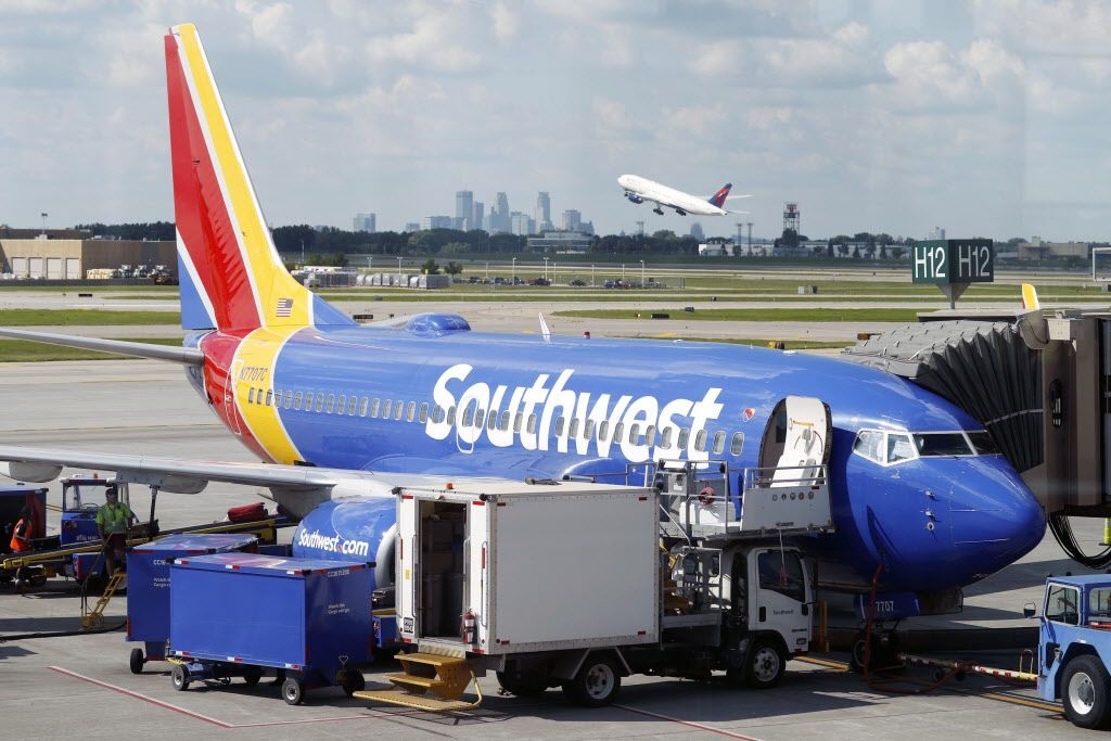 Southwest said it lost out on $10 million to $15 million in sales this month because of the federal government shutdown.