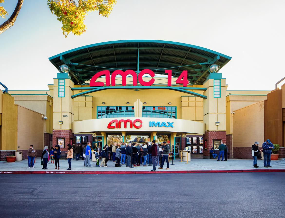 Un complejo de cines AMC en San Jose, California.(GETTY IMAGES)