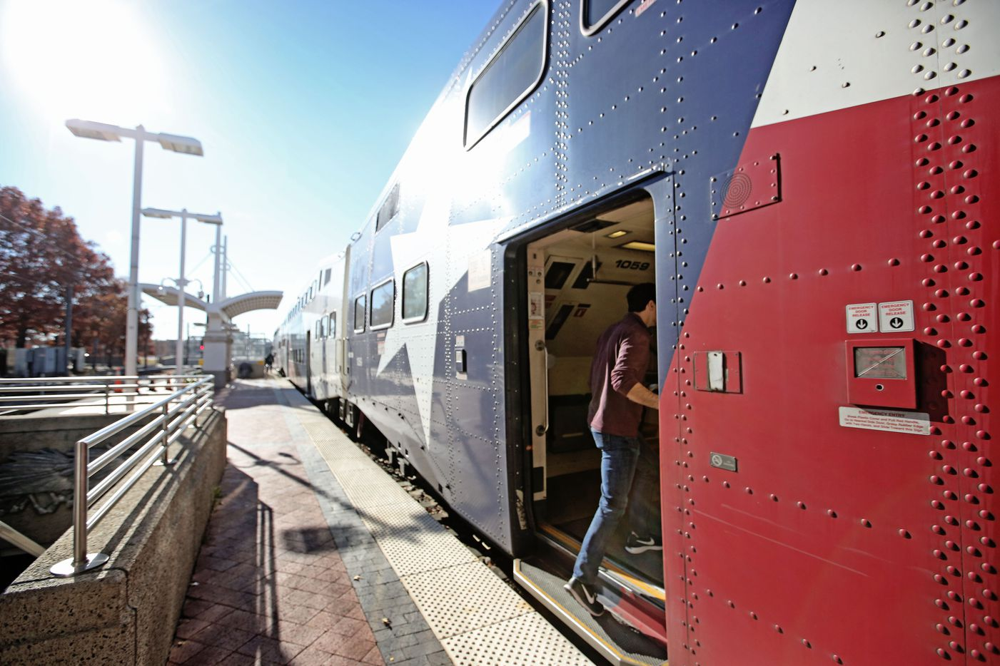 Going to Fort Worth from Dallas' Union Station was an easy trip once the Curious Texas team learned the shortest route.