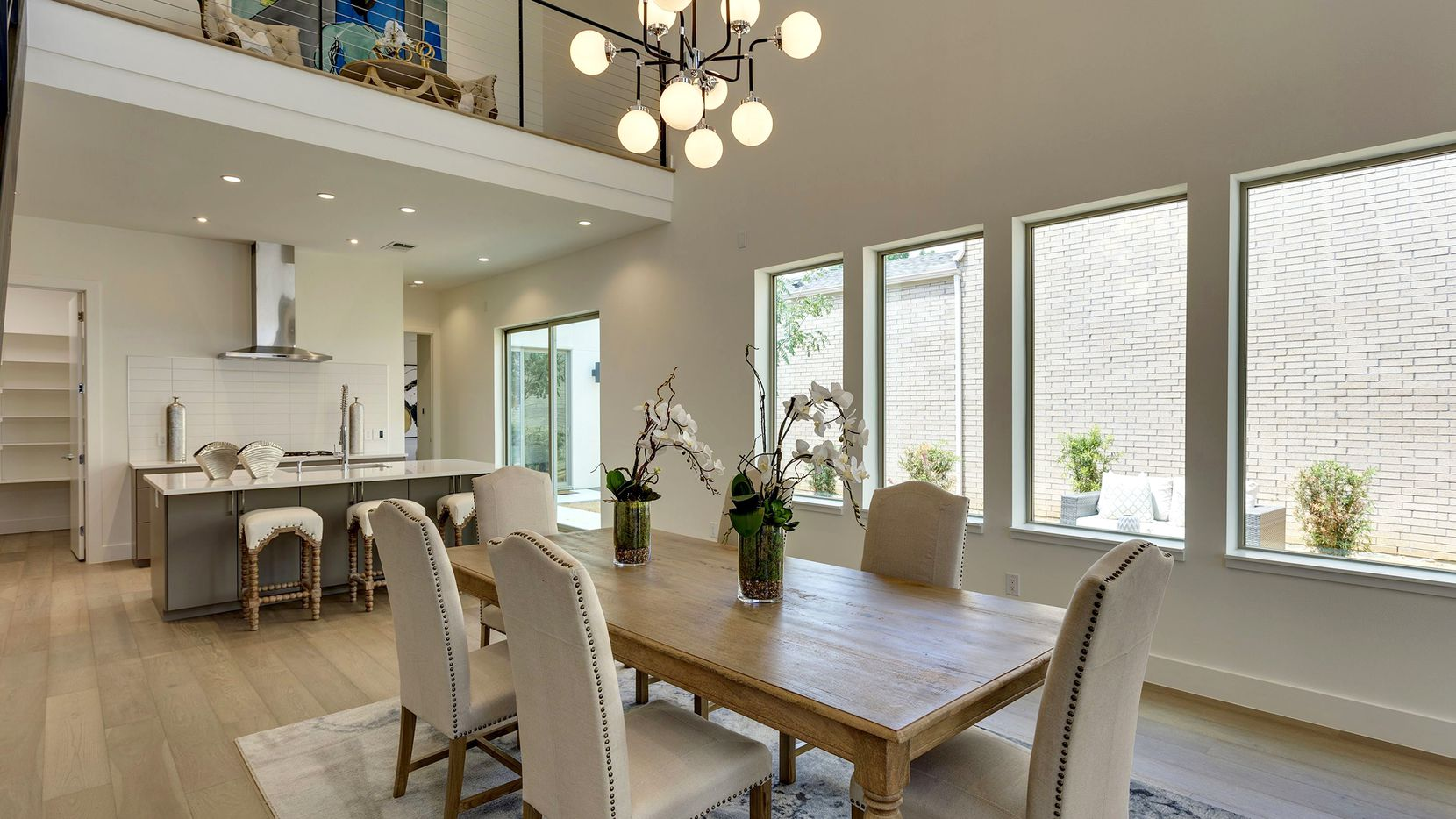 The three-bedroom, 3½-bath modern home at 3352 Walchard Court will be open from 2 to 4 p.m. on Nov. 17.