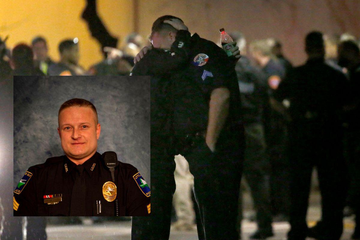 El detective Jerry Walker falleció tras un altercado violento.  Foto Jae S. Lee/The Dallas Morning News)