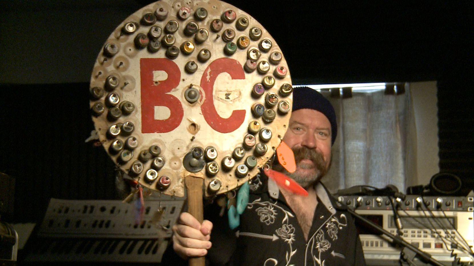 Joe Cripps in a still from Do Something Different, Bart Weiss and Mark Birnbaum's documentary about the polka kings of Denton.