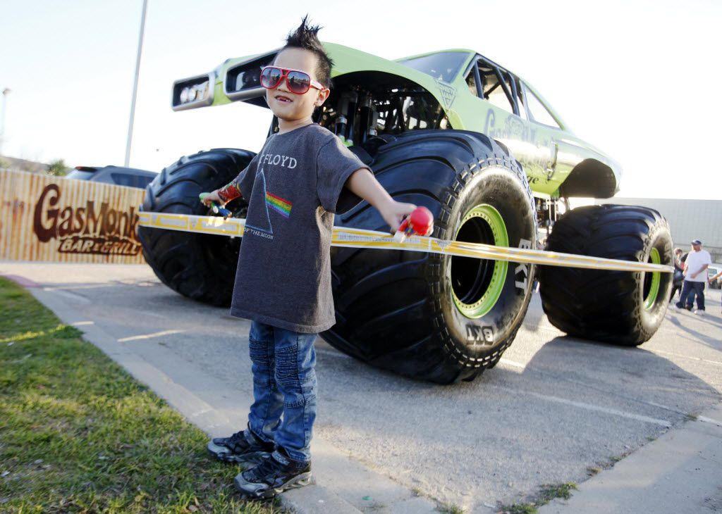 Don't 'get' monster trucks? The dude who drives the Gas