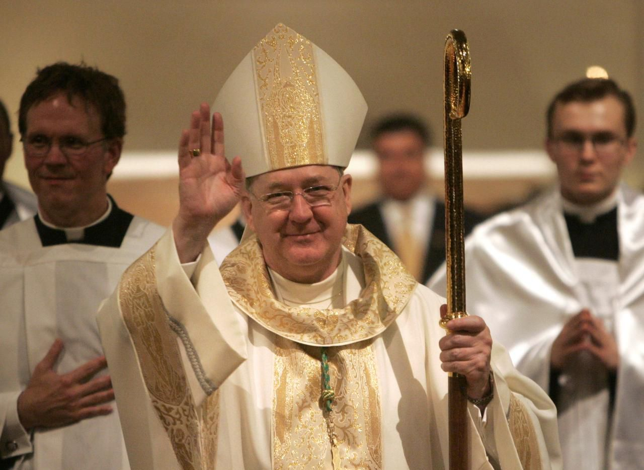 Kevin Farrell, nativo de Irlanda, fue instalado obispo de Dallas en 2007.(TOM FOX)