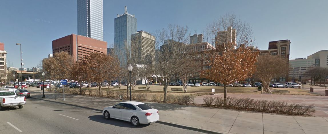 A parcel at 308 S. Market St. known as WFAA Plaza is among the lots being marketed for sale by the parent of The Dallas Morning News.