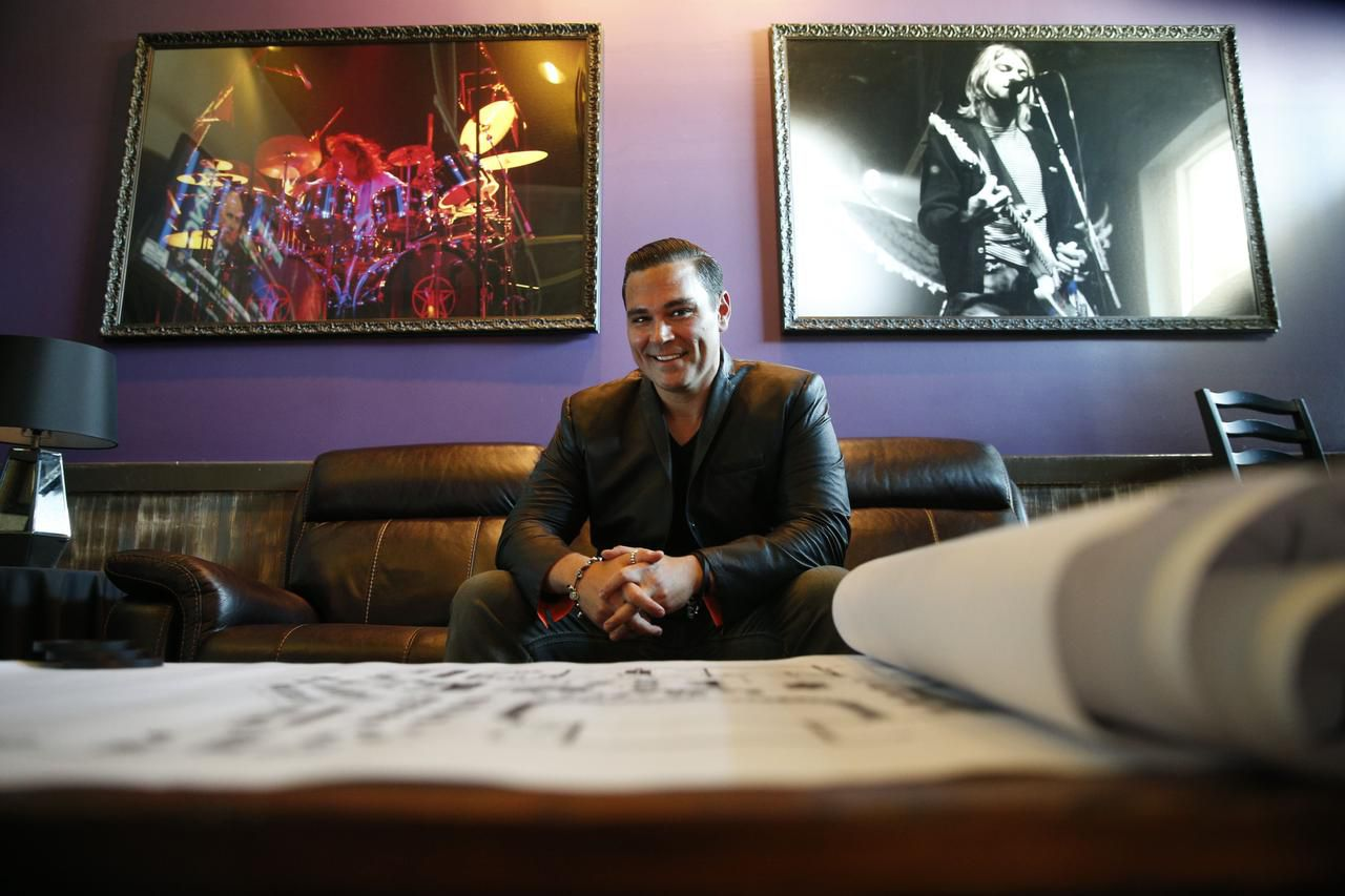 Ian Vaughn, at his Rock 101 Grill, is gearing up for next year's opening of the Lava Cantina, a 28,000-square-foot restaurant and live entertainment venue in the sprawling Grandscape development that's now home to Warren Buffett's Nebraska Furniture Mart.