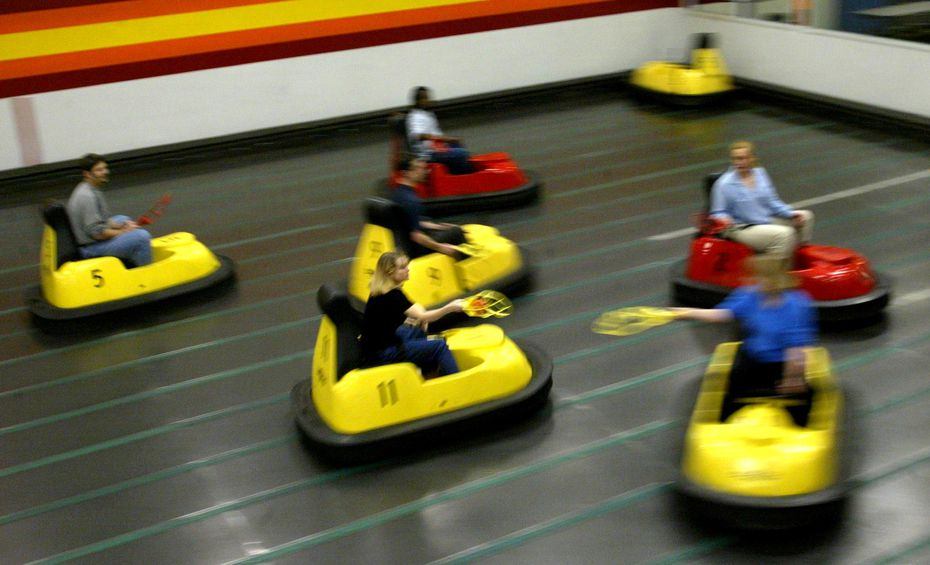 You can play Whirly Ball in Hurst or Plano.
