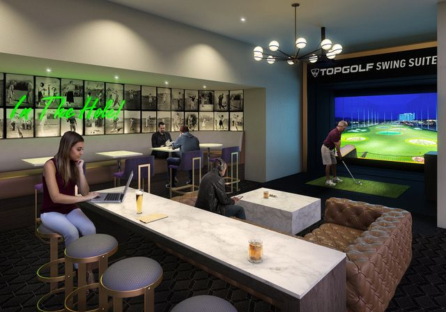 The new Topgolf Swing Suite is planned for the Doubletree hotel on North Central Expressway.