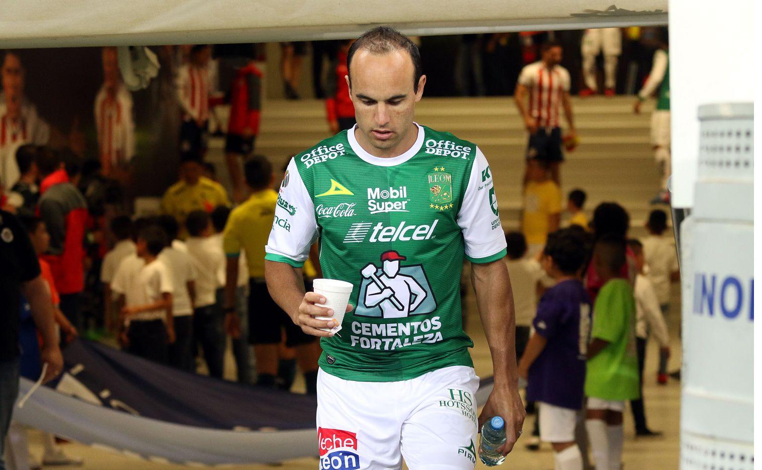 Landon Donovan estuvo apenas seis meses en León cuando el contrato original era de un año. AGENCIA REFORMA