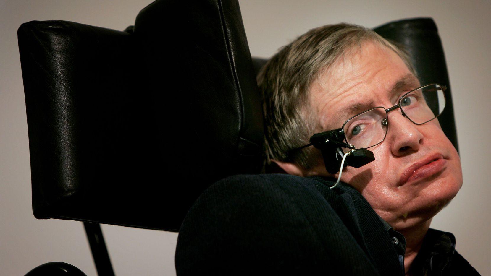 Stephen Hawking falleció a los 76 años de edad. /AP