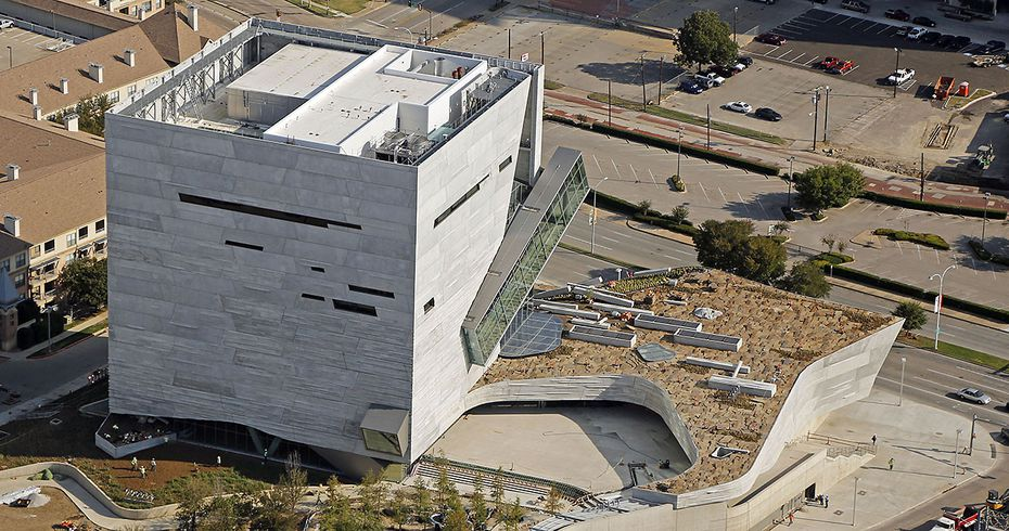Perot Museum of Nature and Science.