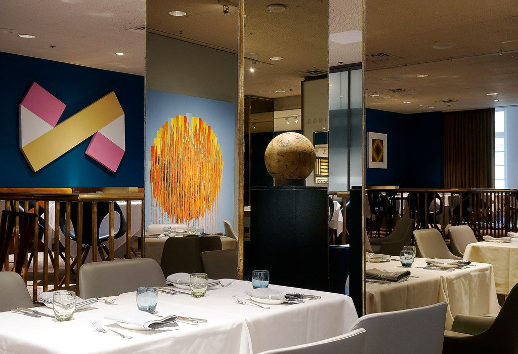 The Neiman Marcus downtown Dallas Zodiac restaurant has been remodeled. The company decided that only two of its restaurants will be called Zodiac from now on, the original one in downtown Dallas and its new one that opened in March in New York's Hudson Yards mall. This photos was taken on Monday, June 10, 2019.