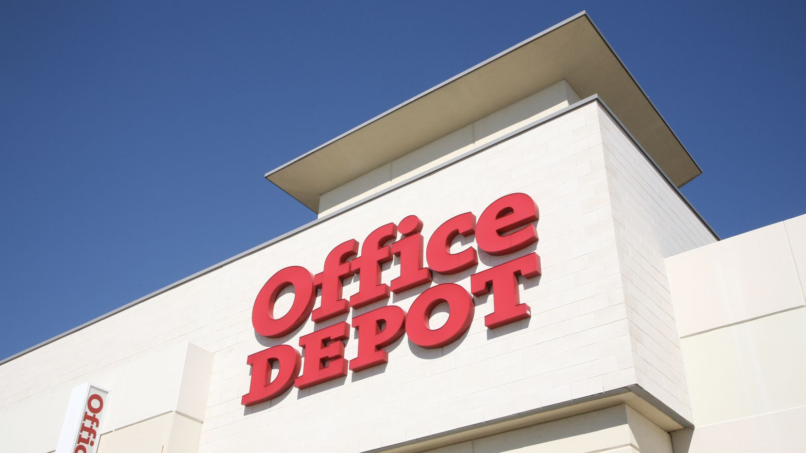 Office Depot's new coworking center is in the retailer's store on Airport Freeway in Irving.