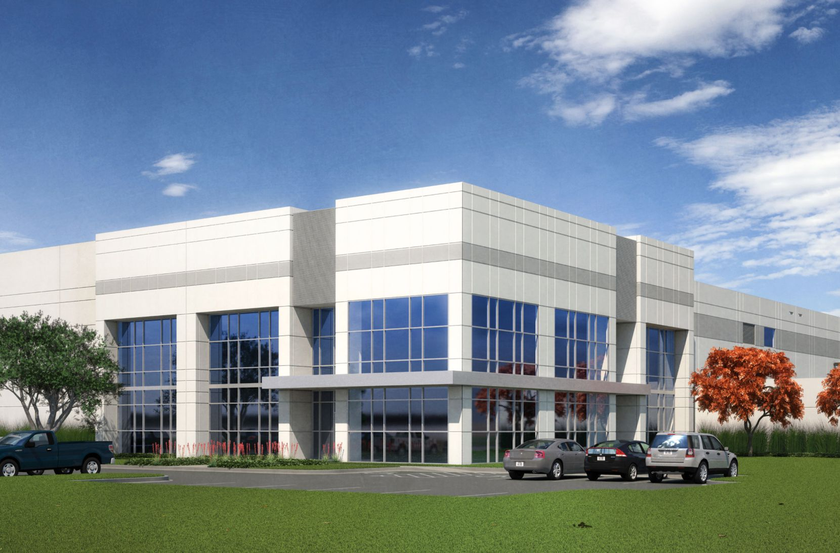 Smart Warehousing will locate in HIllwood Properties' Alliance Center North 15 on Eagle Parkway.