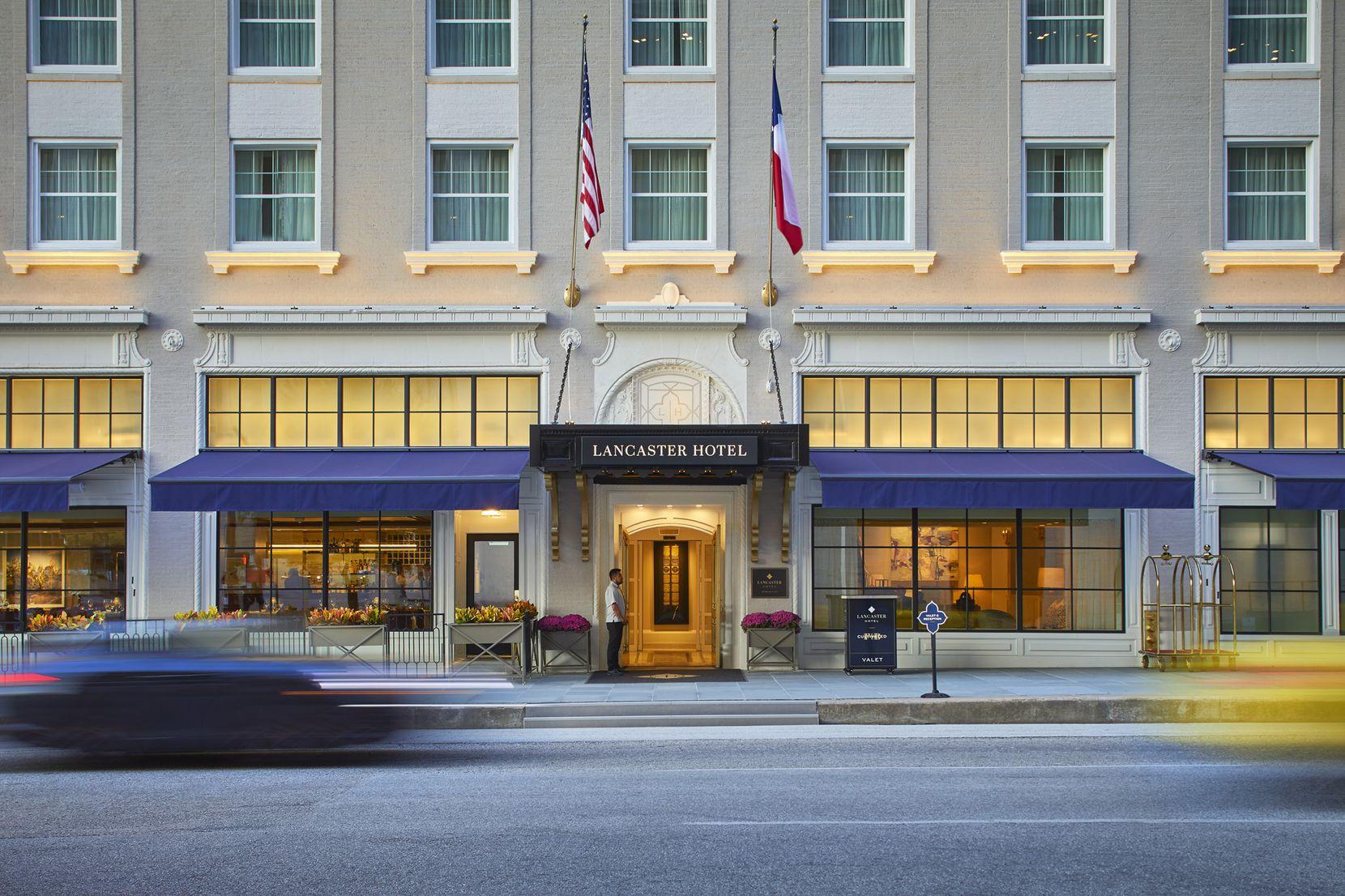 Lancaster Hotel in Houston