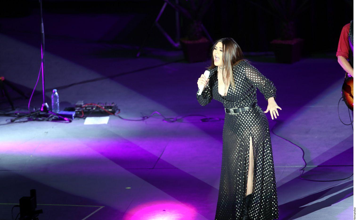 Yuridia se presenta el jueves en Dallas con su Desierto Tour. Foto Agencia Reforma