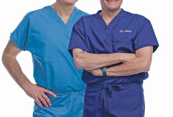 El doctor Mehmet Oz y el doctor Michael Roizen